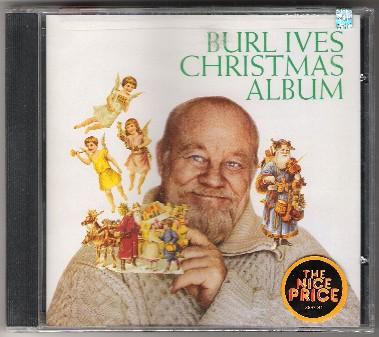 Burl Ives Christmas.Izzymusic Burl Ives Christmas Album Cd Christmas Holiday