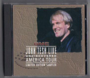 Izzymusic - JOHN TESH CD GMC LIVE UNDISCOVERED AMERICAN TOUR